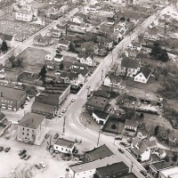 Milton Delaware: Aerial View 1950-1960