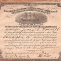 Certificate, Registration