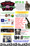 zombie fest ad poster